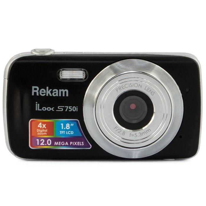 Компактный фотоаппарат Rekam iLook S750i, Black цена