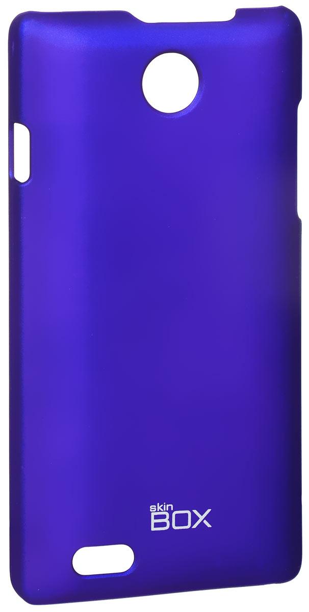 Skinbox 4People чехол для ZTE v815W, Blue стоимость
