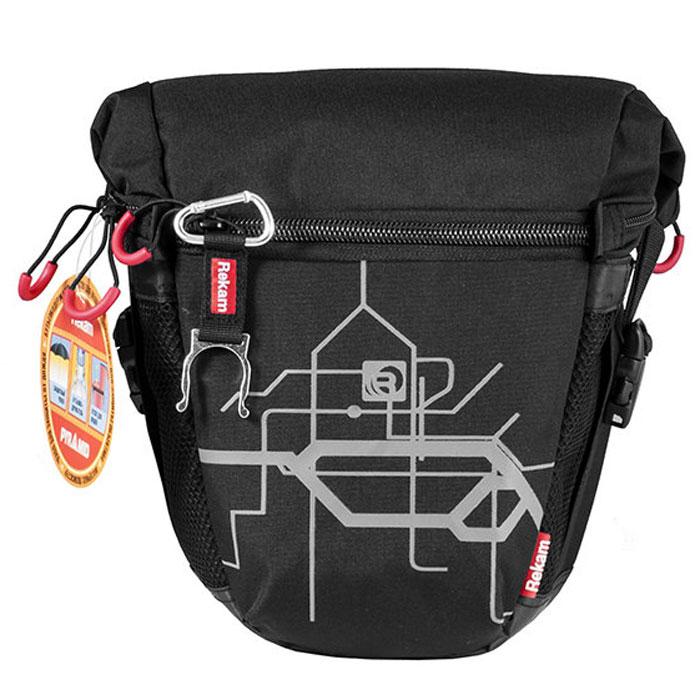 Rekam Pyramid RBX-55, Black сумка для фотокамеры