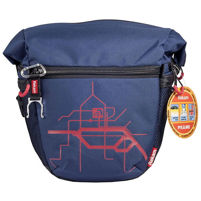 Rekam Pyramid RBX-59, Blue сумка для фотокамеры