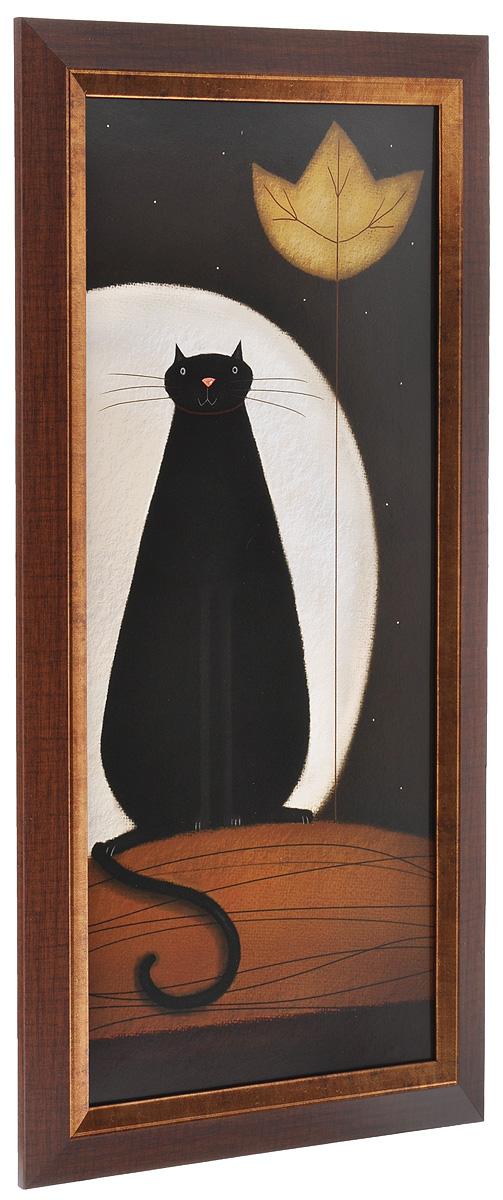 Постер Лунный кот 23 х 50 см .