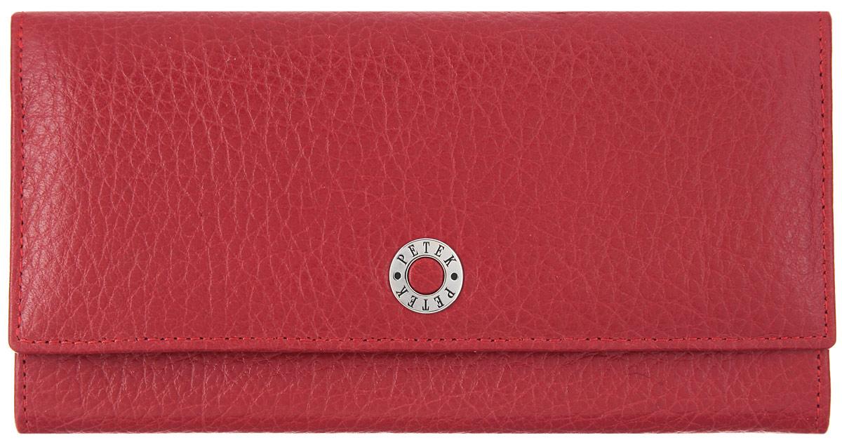334264ca5ace Портмоне женское Petek 1855, цвет: красный. 379.46B.10 — купить в интернет- магазине OZON.ru с быстрой доставкой