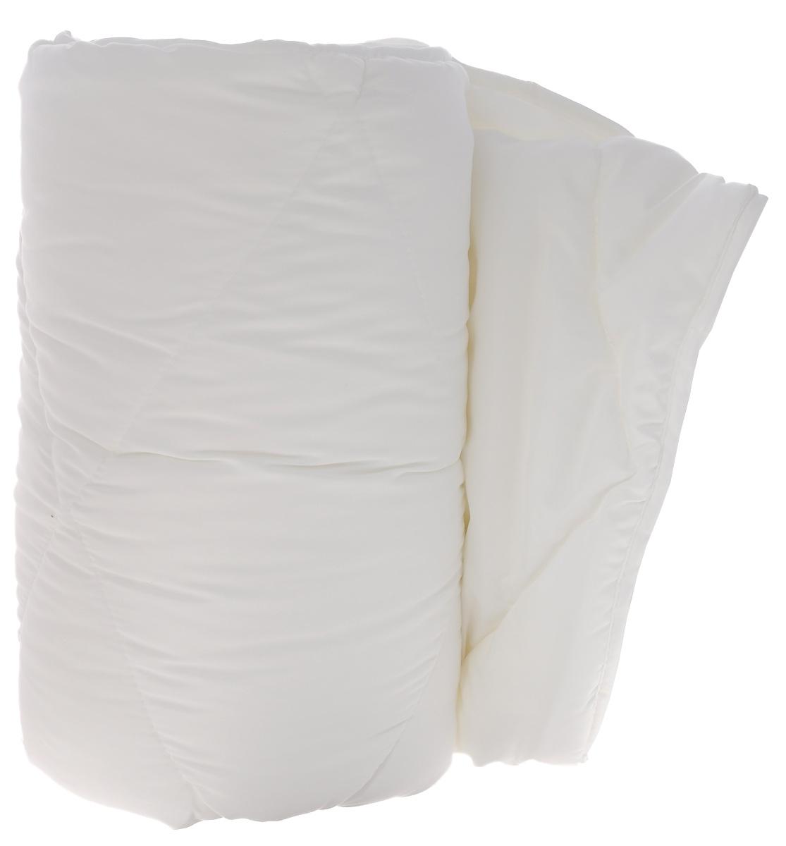 """Одеяло Dargez """"Бомбей"""", легкое, наполнитель: бамбуковое волокно, цвет: белый, 140 см х 205 см"""