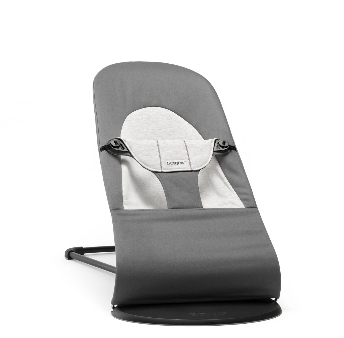 цена на BabyBjorn Кресло-шезлонг Balance Jersey, цвет: темно-серый, серый