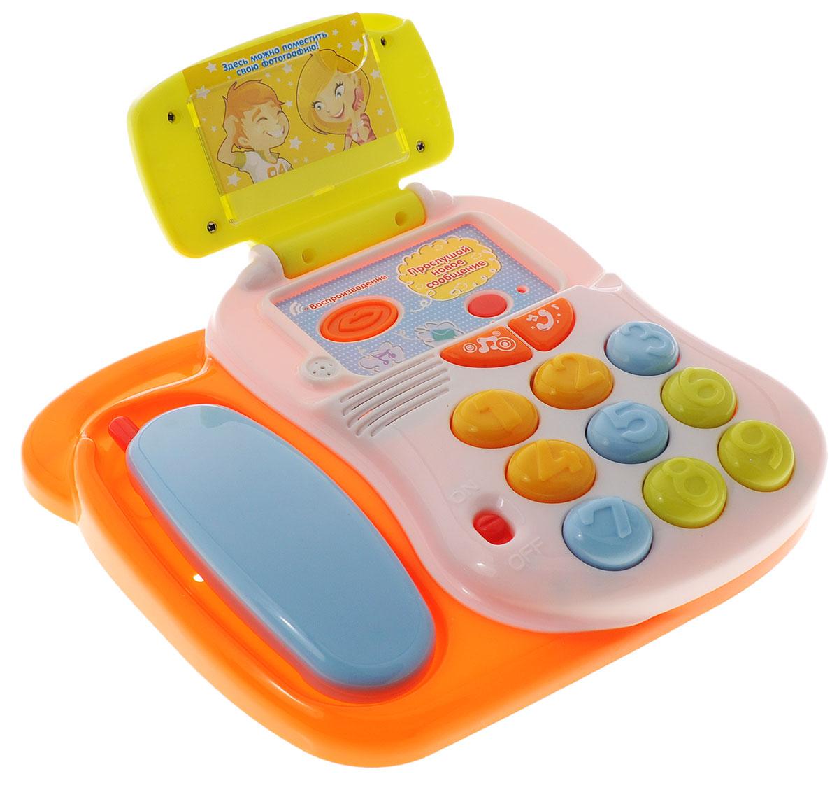 Mommy Love Развивающая игрушка Говорящий телефон развивающая игрушка mommy love веселое путешествие в ассортименте