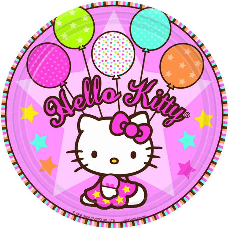 Amscan Тарелка Hello Kitty 8 шт