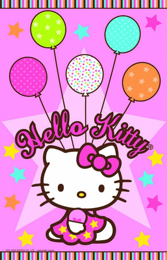 Amscan Скатерть Hello Kitty 140 см х 260 см1502-0933Скатерть Hello Kitty органично впишется в интерьер кухни, или детской, а яркий рисунок обязательно понравится вашему ребенку. Изделие очень практичное, так как выполнено из полиэтилена. Скатерть поможет создать атмосферу уюта и домашнего тепла в интерьере вашей кухни, а также станет настоящим украшением праздничного стола.