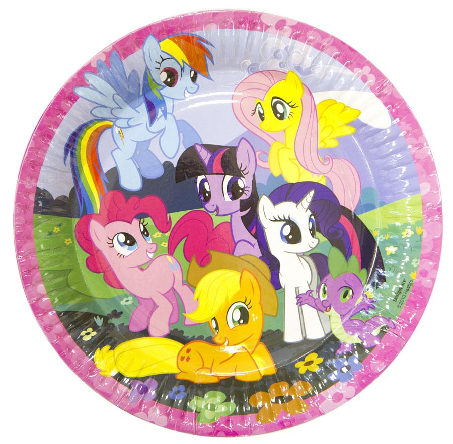 Amscan Тарелка My Little Pony 23 см 8 шт