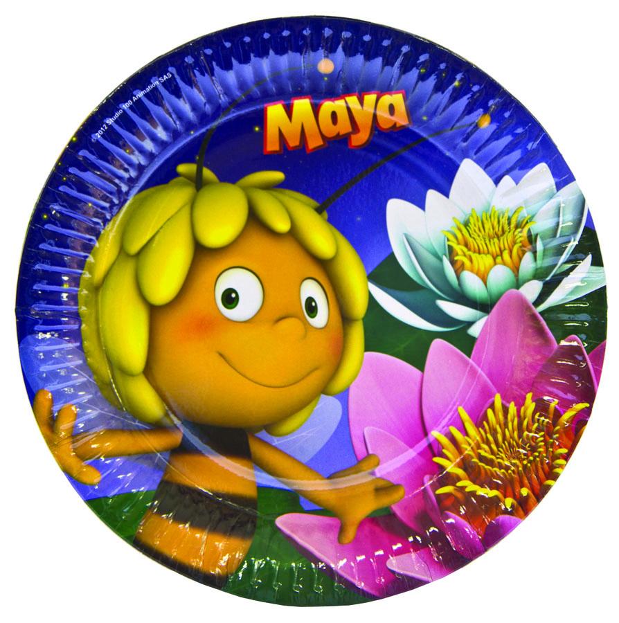 Amscan Тарелка Пчелка Майя 8 шт