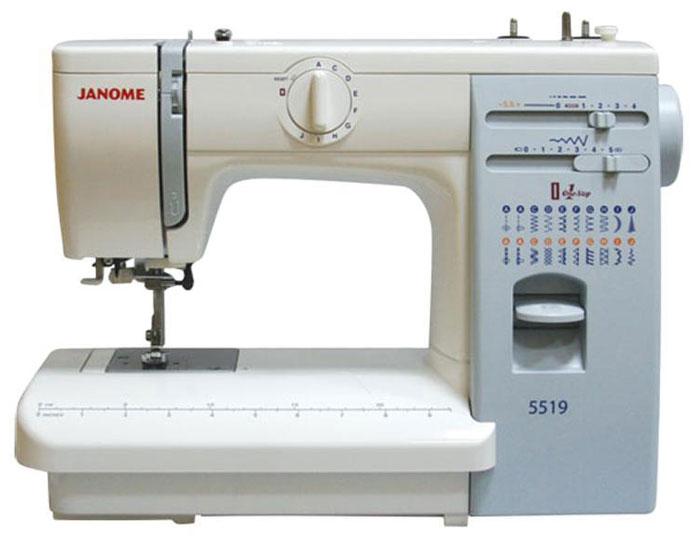 Швейная машина Janome 5519 Уцененный товар (№15)