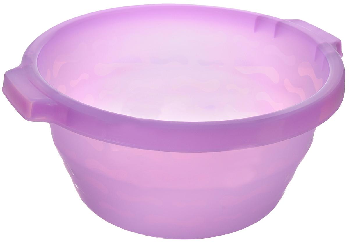 Таз Gensini, цвет: сиреневый, 14 л контейнер gensini цвет сиреневый 10 л