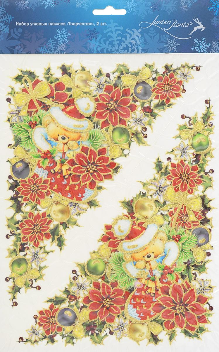 Новогоднее оконное украшение Lunten Ranta Творчество, 20 х 29,5 см, 2 шт. 65910_3