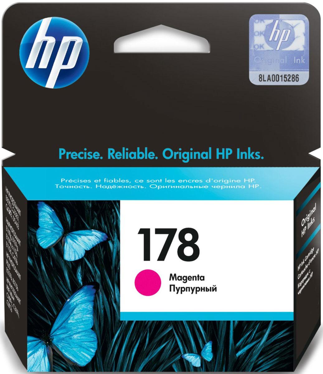HP CB319HE (178), Magenta картридж для струйных МФУ/принтеров цена