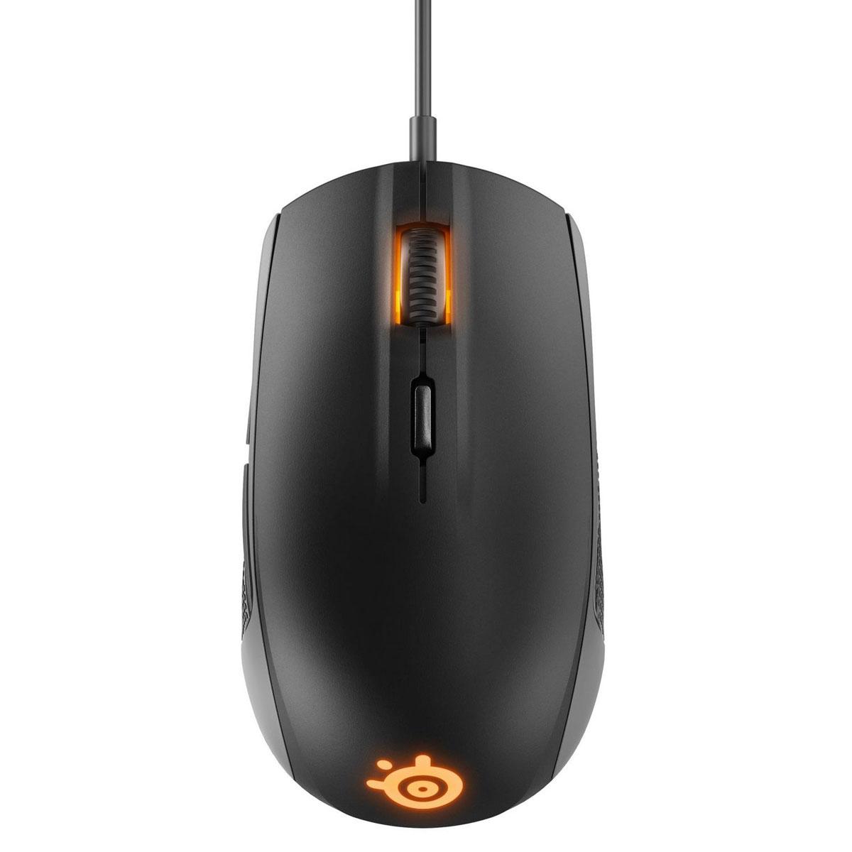 Игровая мышь SteelSeries Rival 100 62341, Black