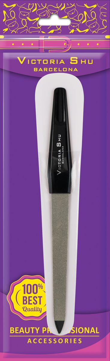 Victoria Shu Пилочка для ногтей из нержавеющей стали с сапфировым напылением F307, 14 г румяна victoria shu the best one 14 цвет 14 пастельный variant hex name b97f73