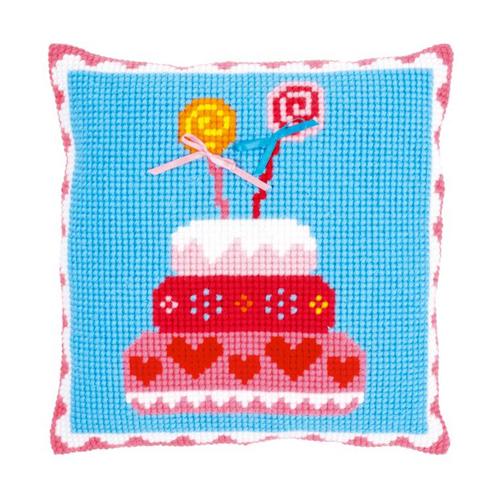 Набор для вышивания крестом Vervaco Подушка, 40 х 40 см. 0150300-PN набор для вышивания подушки vervaco белая лилия 40 см х 40 см