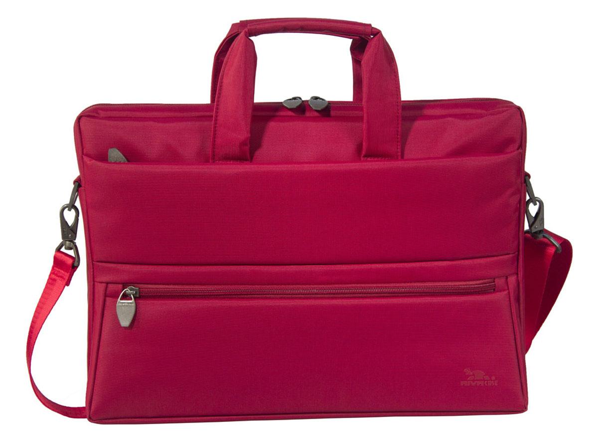 "RIVACASE 8630 сумка для ноутбука 15,6"", Red"