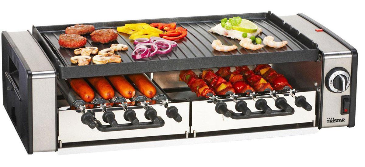 Электрогриль Tristar RA-2993 любите погорячее секреты приготовления вкусного мяса