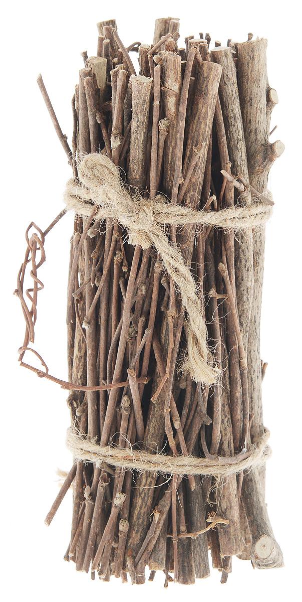 Декоративный элемент Dongjiang Art, цвет: натуральное дерево, длина 20 см. 77090287709028_нат/деревоДекоративный элемент Dongjiang Art, изготовленный из натурального дерева, предназначен для декорирования. Изделие представляет собой связку хвороста и может пригодиться во флористике. Флористика - вид декоративно-прикладного искусства, который использует живые, засушенные или консервированные природные материалы для создания флористических работ. Это целый мир, в котором есть место и строгому математическому расчету, и вдохновению, полету фантазии. Длина веток: 20 см. Средняя толщина веток: 5 мм. Рекомендуем!