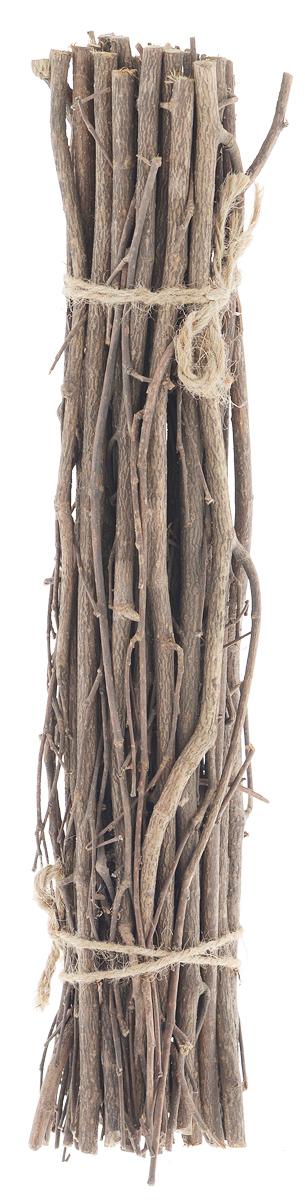 Декоративный элемент Dongjiang Art, цвет: натуральное дерево, длина 40 см. 77090267709026_нат/деревоДекоративный элемент Dongjiang Art, изготовленный из натурального дерева, предназначен для декорирования. Изделие представляет собой ветки разной толщины и может пригодиться во флористике. Флористика - вид декоративно-прикладного искусства, который использует живые, засушенные или консервированные природные материалы для создания флористических работ. Это целый мир, в котором есть место и строгому математическому расчету, и вдохновению, полету фантазии. Длина веток: 40 см. Средняя толщина веток: 7 мм.