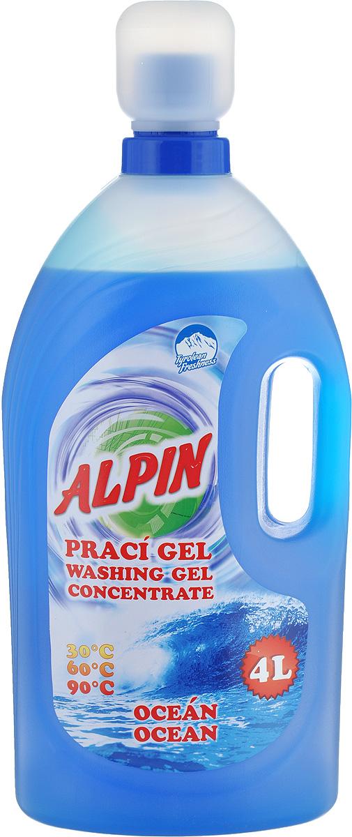 """Жидкое средство Alpin """"Ocean"""" для стирки белья, 4 л"""