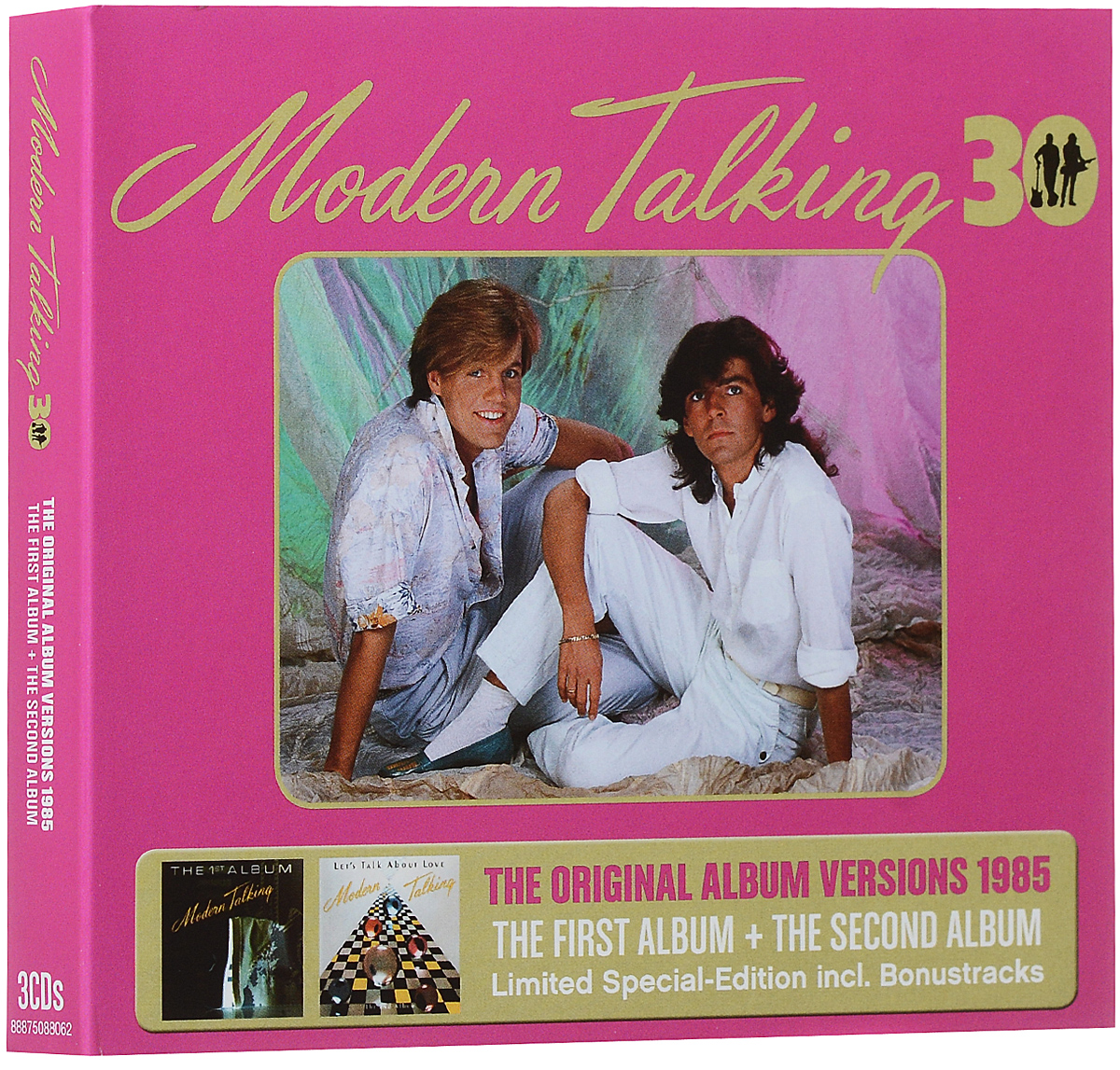 "Фото ""Modern Talking"" Modern Talking. The Original Album Versions 1985. Limited Special-Edition (3 CD)"