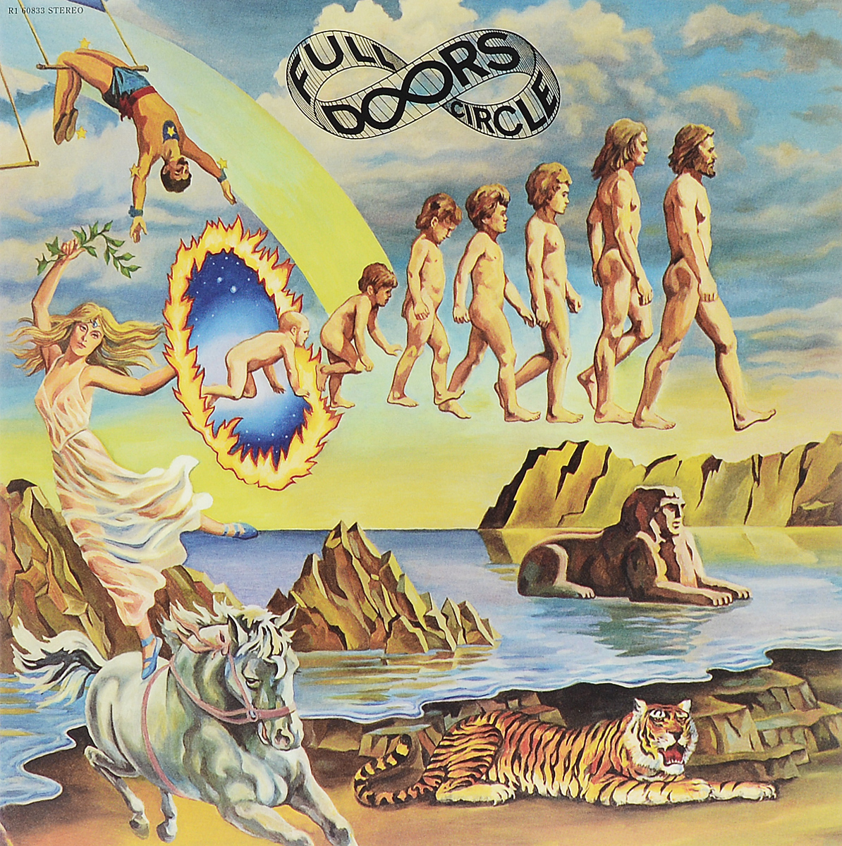 The Doors The Doors. Full Circle (LP) original new innolux 5 6 inch at056tn53 v 1 lcd screen with touch