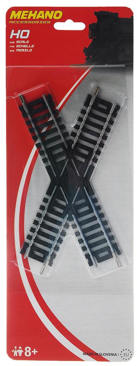 Перекресток 45° mehano мост c опорами для железной дороги