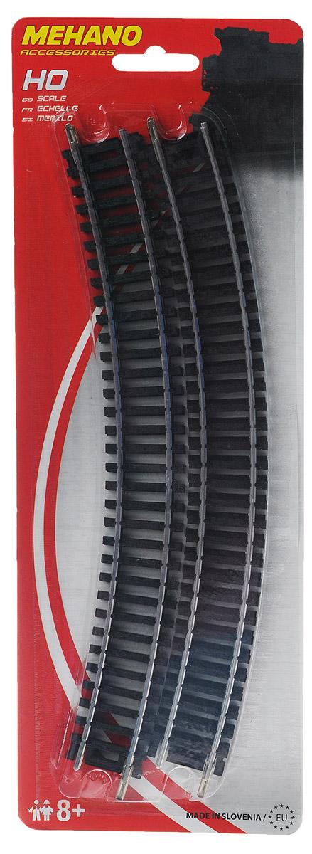 Радиальные рельсы (30? / R 457,2mm), 4шт игрушка mehano 1 f101 набор рельс