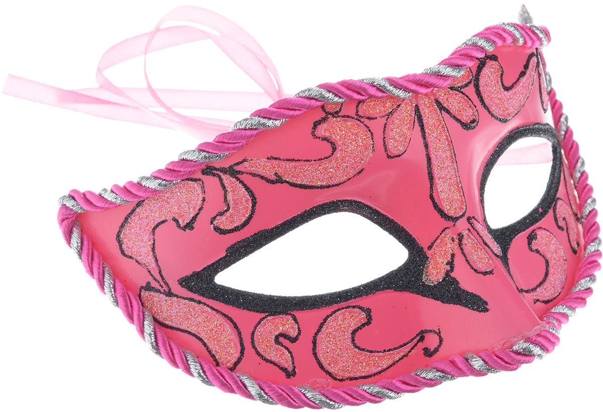 Маска карнавальная Феникс-Презент Розовые грезы маска карнавальная волк 15 см в пакете