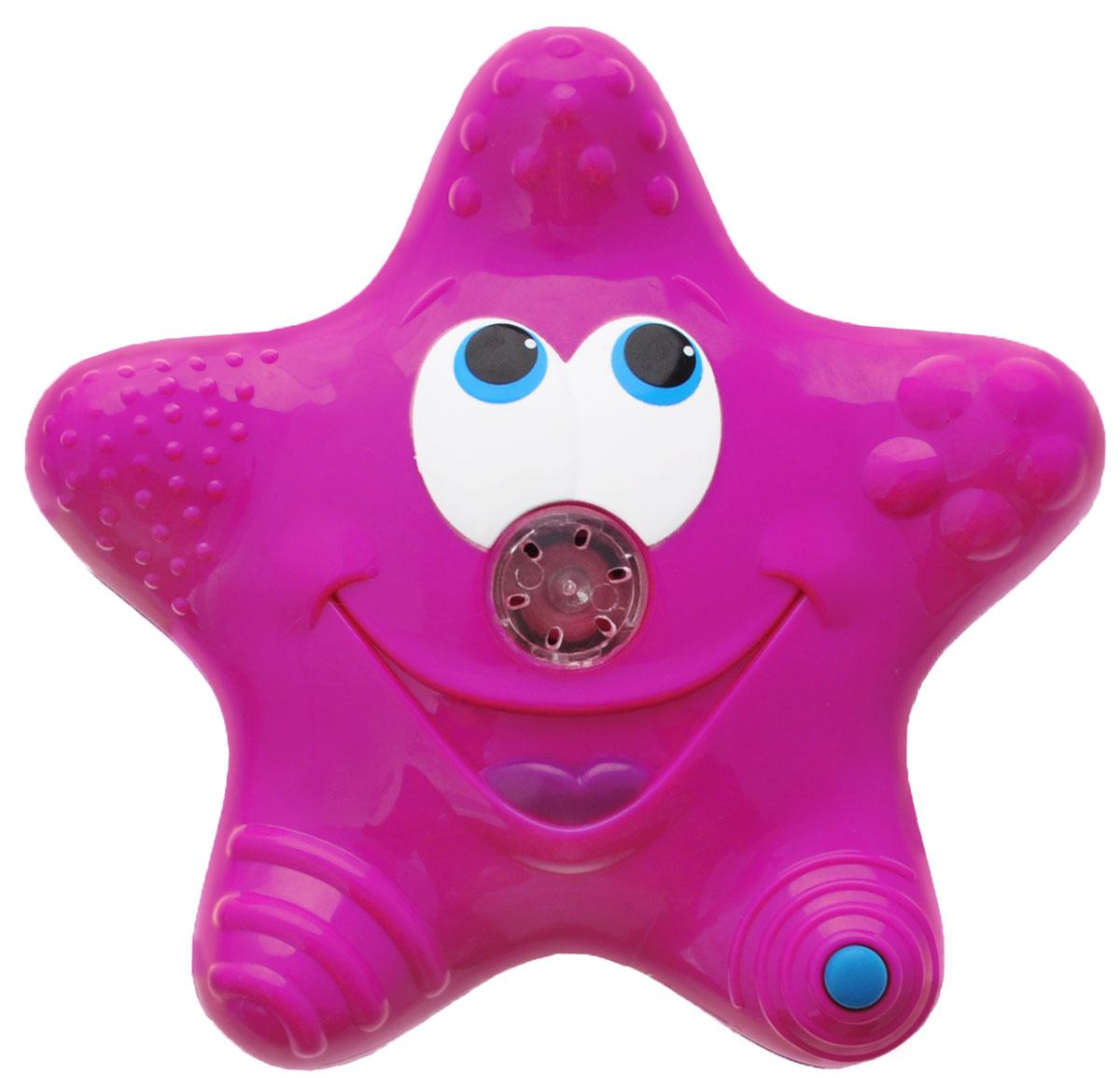 Munchkin Игрушка для ванны Звездочка цвет розовый синий