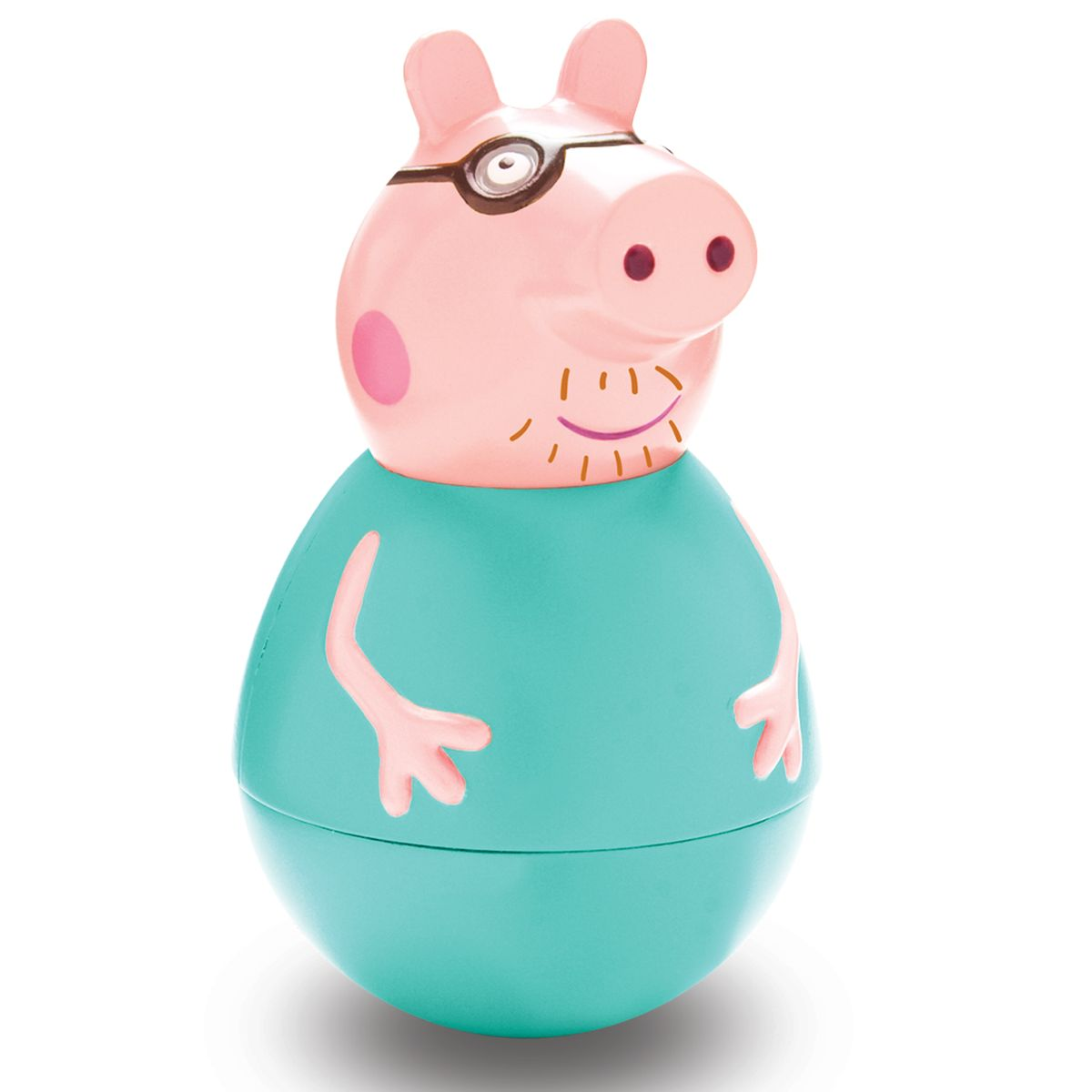 все цены на Peppa Pig Неваляшка Папа Пеппы онлайн