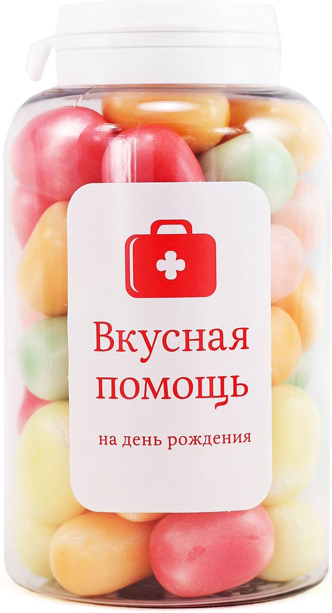 Конфеты Вкусная помощь На День рождения, 189 г конфеты вкусная помощь для храбрости 150 мл