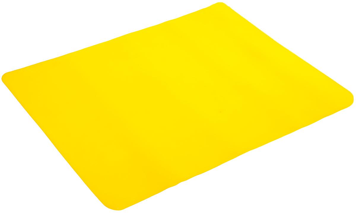 Коврик для выпечки Mayer & Boch, цвет: желтый, 38 х 28 см набор для выпечки mayer