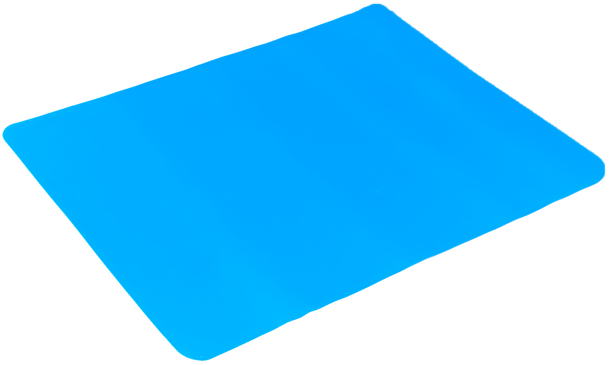 """Коврик для выпечки """"Mayer & Boch"""", цвет: голубой, 38 см х 28 см"""