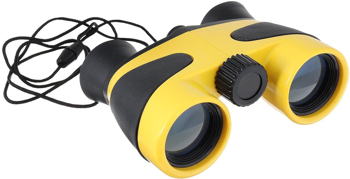Бинокль детский Coghlan's, цвет: желтый, черный, 4х30