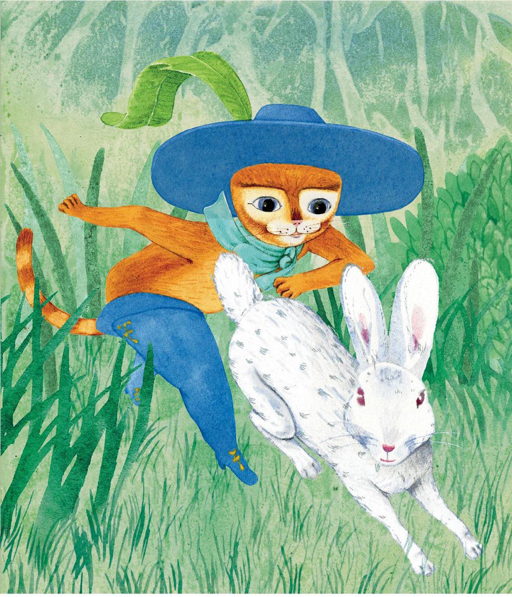 Картинки кота в сапогах из сказки шарля перро рисунок