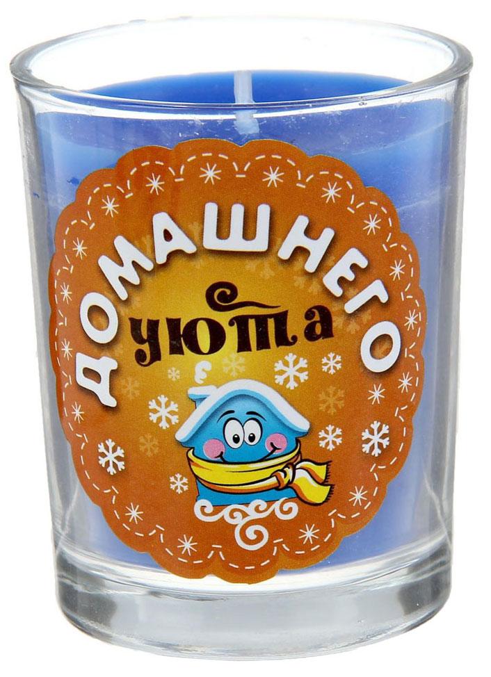 Свеча ароматизированная Sima-land Домашнего уюта, высота 6 см свеча декоративная sima land столбик цвет красный 296062