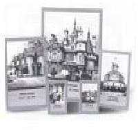 Фоторамка Image Art 6016/5-S ( серебро) фоторамка image art 6015 4pк выгнутая 10 15