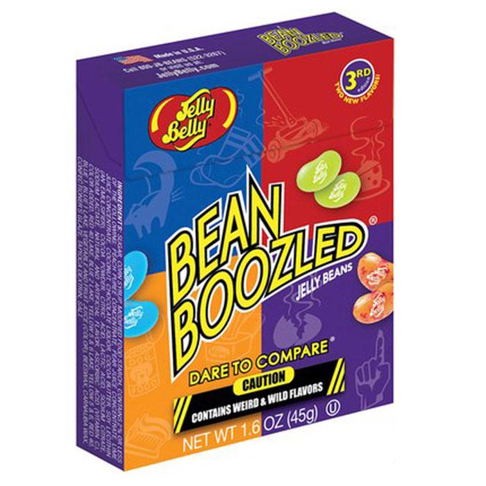 Jelly Belly Bean Boozled драже жевательное, 45 г цены