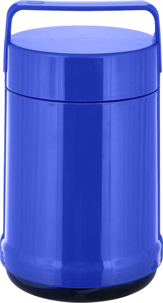 Термос для еды Emsa Rocket, цвет: синий, 1,4 л emsa термос rocket 513416 1 л зеленый 62178 emsa