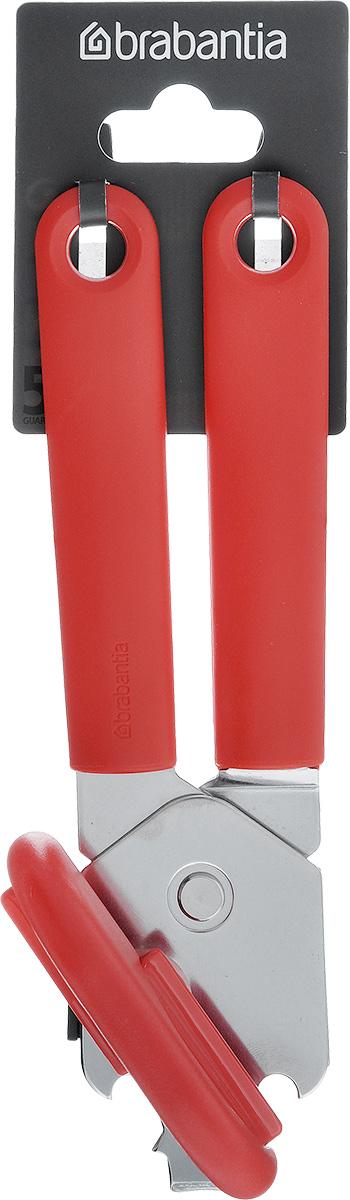 Открывалка для консервов Brabantia Tasty Colours, цвет: красный. 106309 brabantia 106309