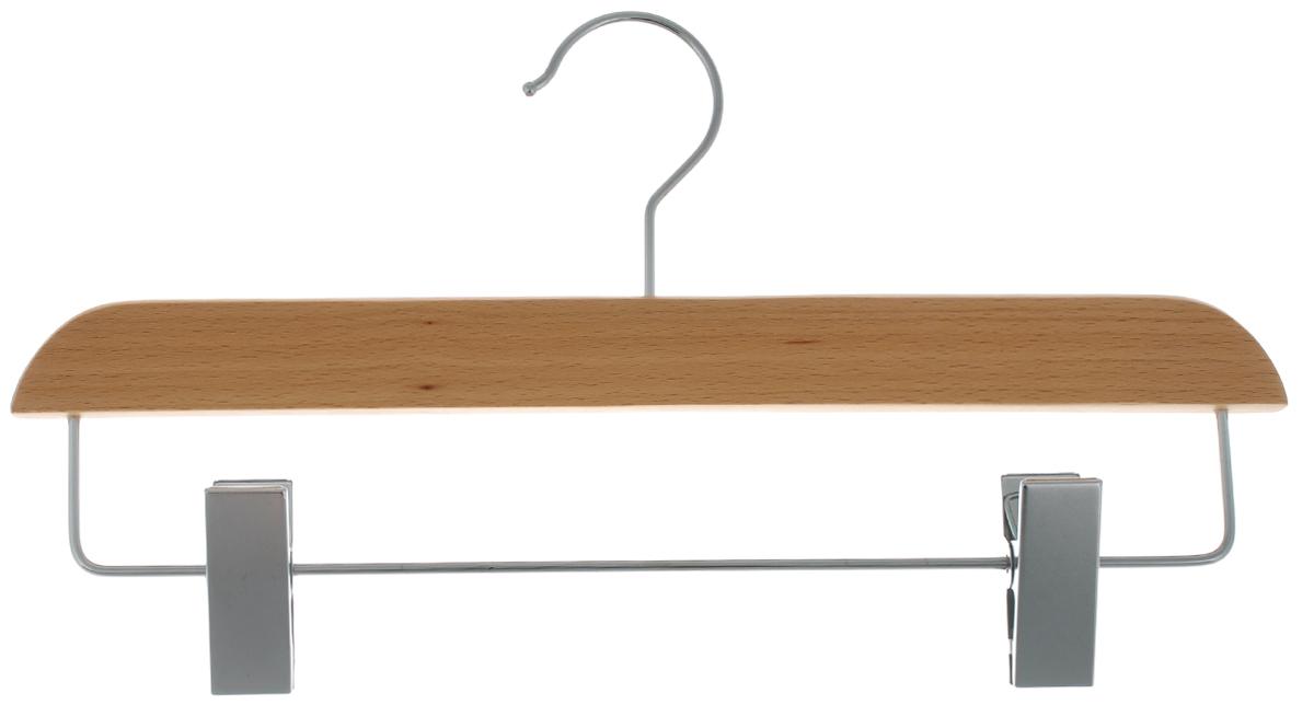 Вешалка для брюк и юбок Cosatto, с зажимами, цвет: бук, 33 см автокресло cosatto zoomi отзывы