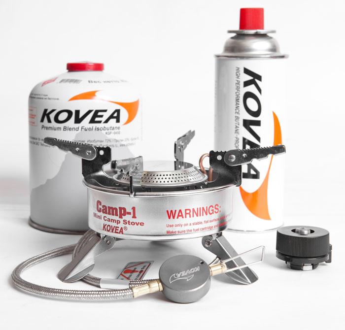 Горелка газовая Kovea Expedition Stove Camp-1 TKB-9703-1L, со шлангом цена