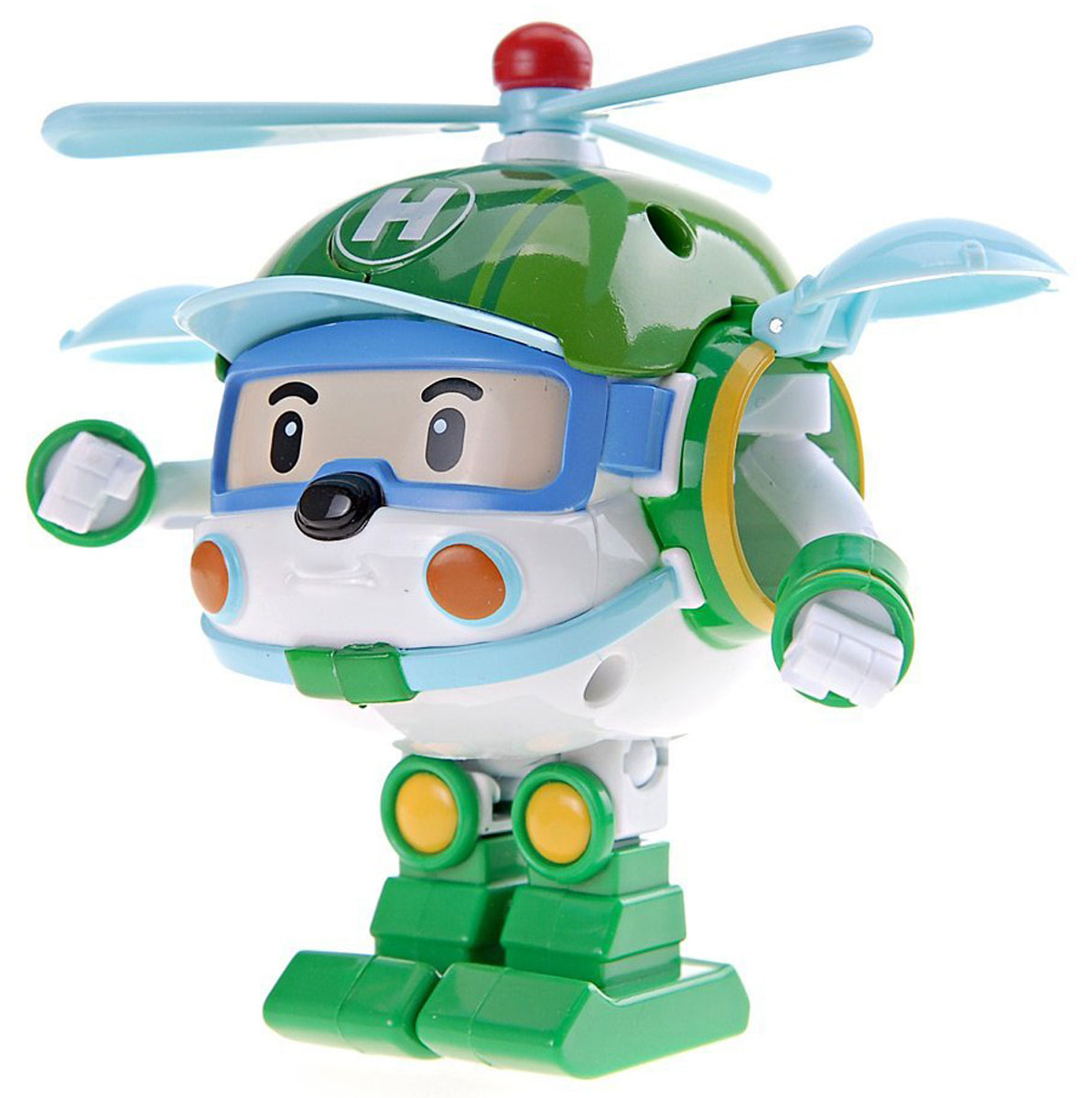 Robocar Poli Игрушка-трансформер Хэли 10 см