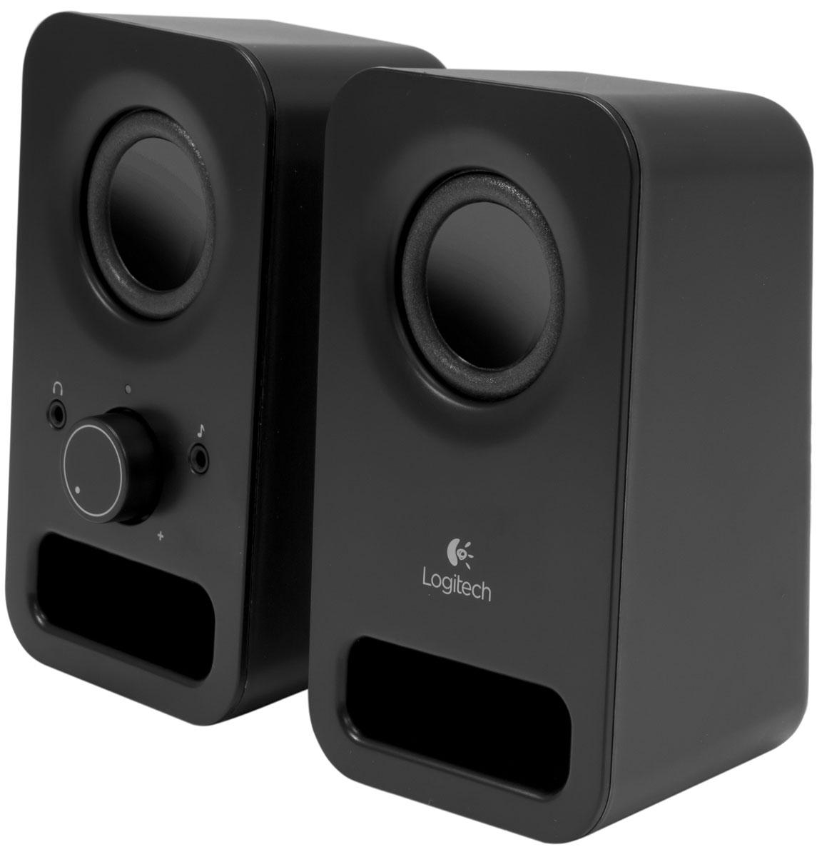 лучшая цена Компьютерная акустика Logitech Z150, Midnight Black (980-000814)
