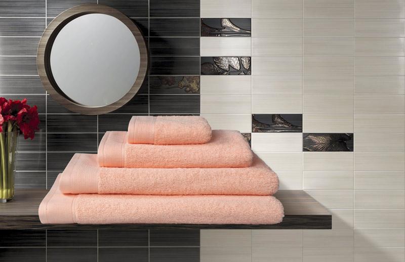 """Набор махровых полотенец """"Guten Morgen"""", цвет: персик, 4 предмета"""