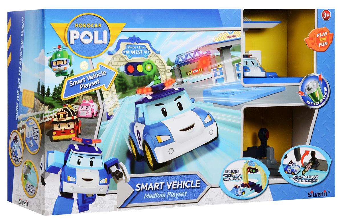 Robocar Poli Игровой набор Средний трек