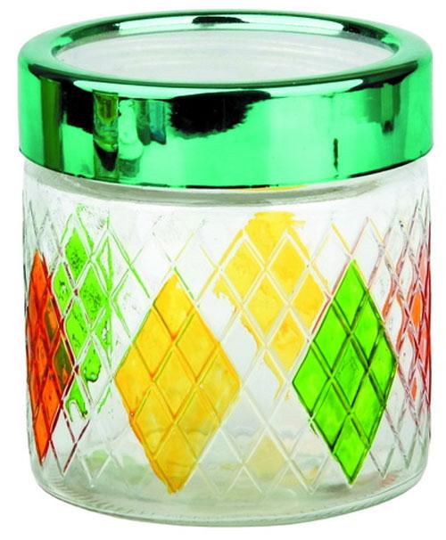 Банка для сыпучих продуктов BOHMANN Стеклянная емкость с крышкой для хранения сыпучих и жидких продуктов