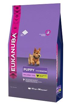 """Корм Eukanuba """"Dog"""", для щенков мелких пород, 10 кг"""